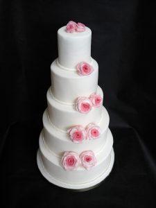 Floral Twist Cake