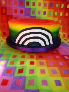 An Irish Rainbow Cake