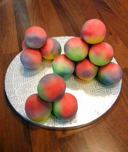 Multi Coloured Cake Balls