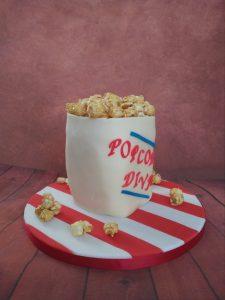 Popcorn Diva Bag Cake