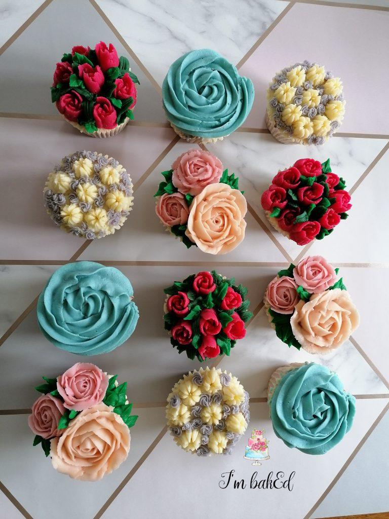 Flower Cupcake Dreams