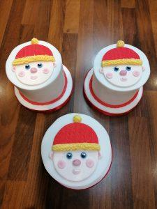 Christmas Face Cake