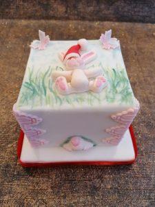Christmas Bunny Cake