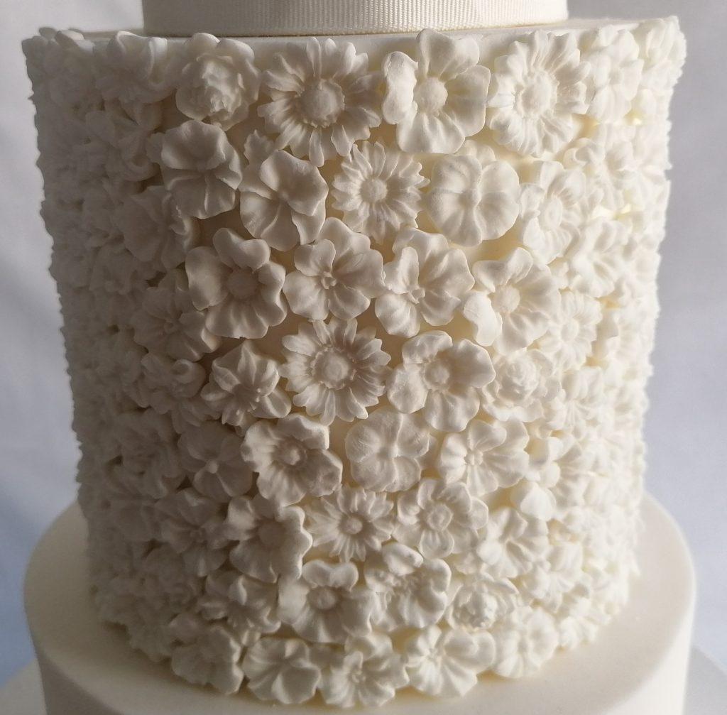 David Austin Rose Cake