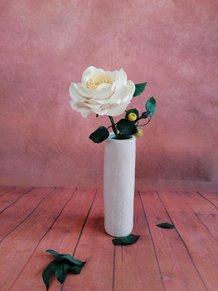 Ivory Rose Spray
