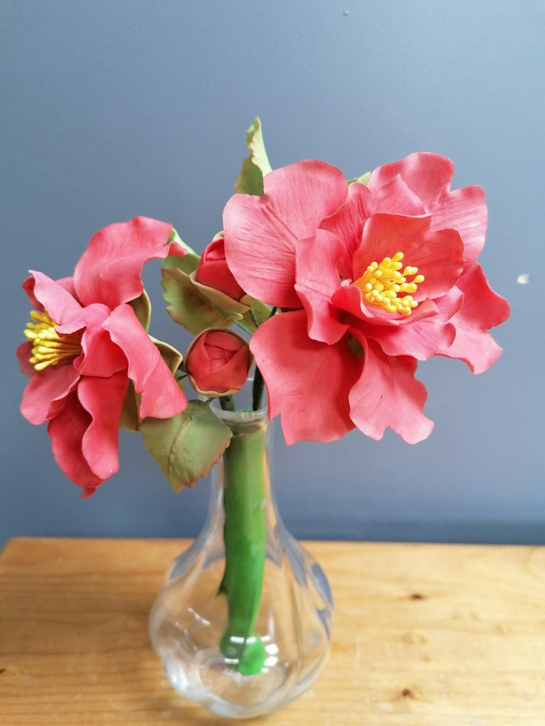 Camellia Posy