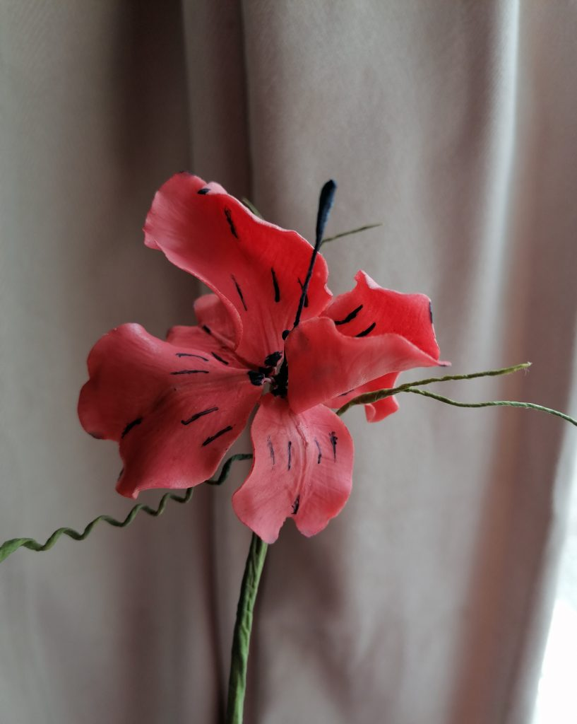 Coral Fantasy Flower