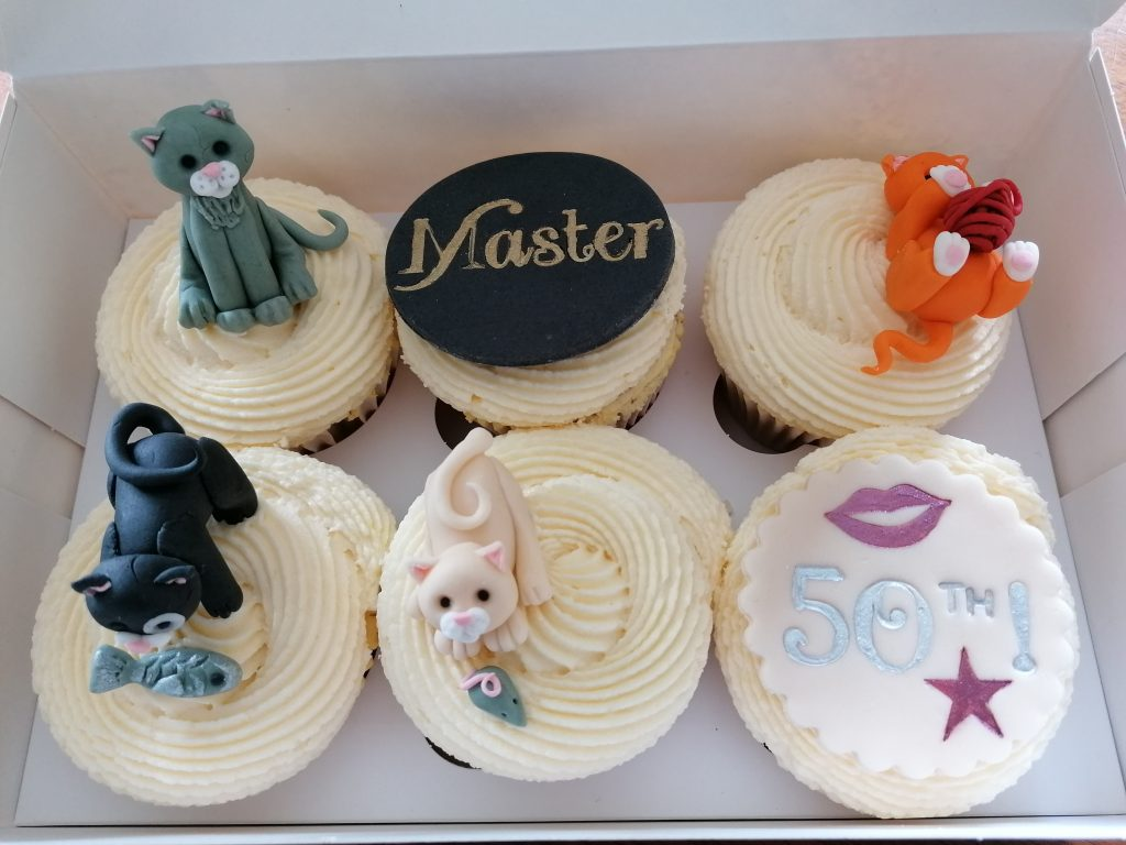 Cat Lovers Cupcakes